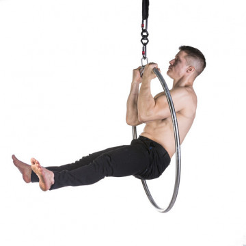Lupit Pole LUPIT LYRA/ HOOP, STAINLESS STEEL