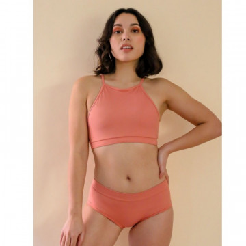 Mademoiselle spin Top GABY ROSE TERRACOTTA