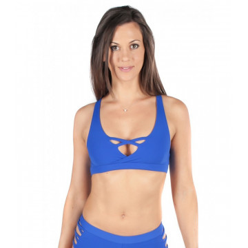 MADEMOISELLE SPIN -  TOP PIGALLE BLU