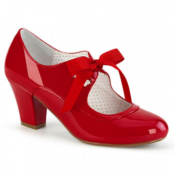 Pin Up Couture WIGGLE-32 Red Pat
