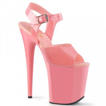 Pleaser FLAMINGO-808N Baby Pink (Jelly-Like) TPU/Baby Pink