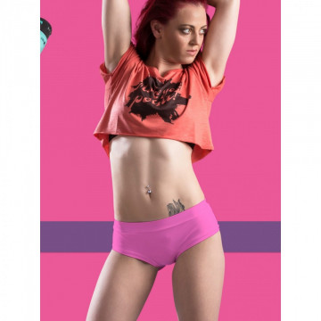 POINT OUT POLE WEAR - PEACH SHORT SORBET multicolor pesca