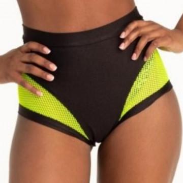 Polerina Anela – Black and Yellow Bottom rete a maglia larga