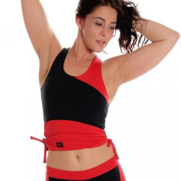 Wink Canotta Drawstring Vest W0145 - Rosso H24