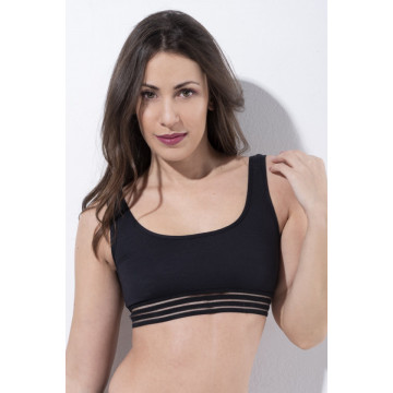 RAD POWER ATHLETIC TOP BLACK Express 24