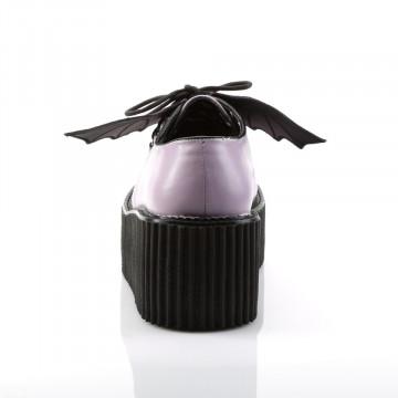 Demonia CREEPER-205 Lavender Vegan Leather