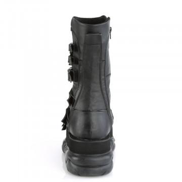 Demonia NEPTUNE-210 Blk Vegan Leather