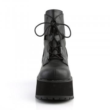 Demonia RANGER-102 Blk Vegan Leather