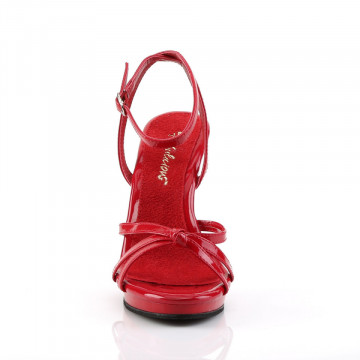 Fabulicious FLAIR-436 Red Pat/Red