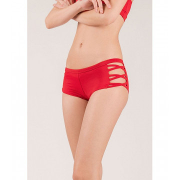MADEMOISELLE SPIN - ISADORA SHORTS PASSION ROUGE