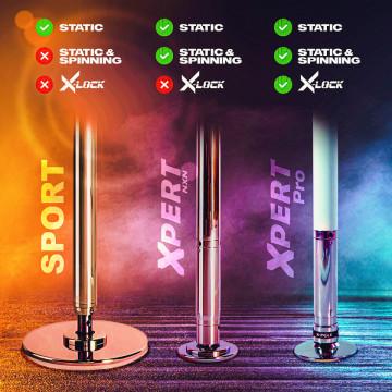 PALO KIT X-Pole Pro T-gold TITANIO Gold X-clock spedizione inclusa