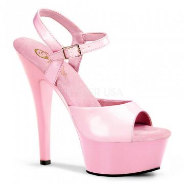 Pleaser KISS-209 B. Pink Pat/B. Pink