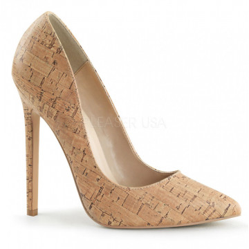 Pleaser SEXY-20 Cork Faux Leather