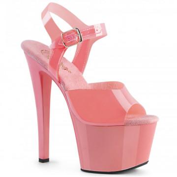 Pleaser SKY-308N Baby Pink (Jelly-Like) TPU/Baby P