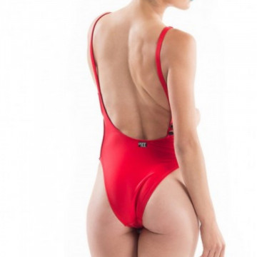 Point Out Body Rosso Lycra Hermione