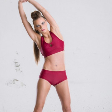 POINT OUT POLE WEAR - IMPULSE BURGUNDY SHORT