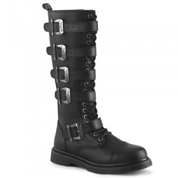 Demonia BOLT-425 Blk Vegan Leather