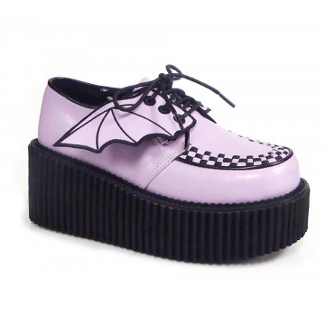 Demonia CREEPER-205 Lavender Vegan Leather