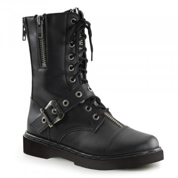 Demonia DEFIANT-206 Blk Vegan Leather
