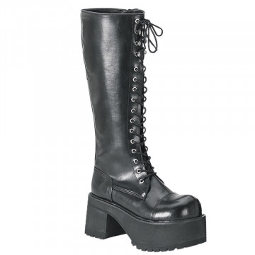 Demonia RANGER-302 Blk Vegan Leather