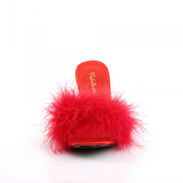 Fabulicious AMOUR-03 Red Pu-Fur