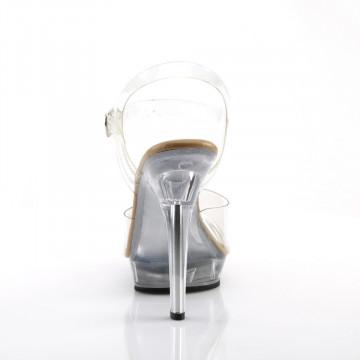 Fabulicious LIP-108 Clr-Tan/Clr