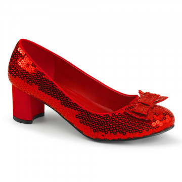 Funtasma DOROTHY-01 Red Sequins