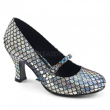 Funtasma MERMAID-70 Silver Hologram Pu