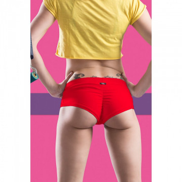 POINT OUT POLE WEAR - RASPBERRY SHORT SORBET BOTTOM COLLECTION