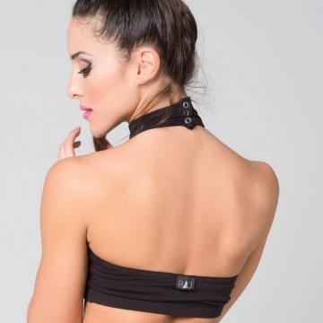 RAD Wear - EVE top BLACK Tessuto licra express 24