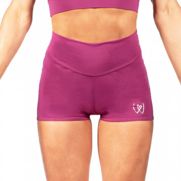 WINK POLE WARRIOR HIGH WAIST COMPRESSION SHORTS W0223