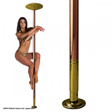 X-Pole X-PERT Ottone | Spin\statico Brass