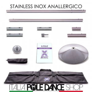 X-Pole X-PERT STAINLESS - spin\statico sp inclusa