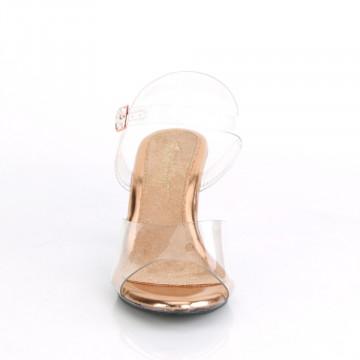 Fabulicious BELLE-308 Clr-Rose Gold/Clr