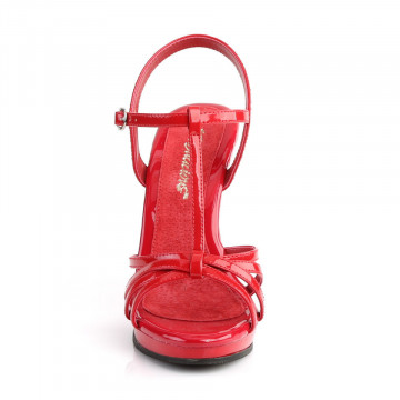 Fabulicious FLAIR-420 Red Pat/Red