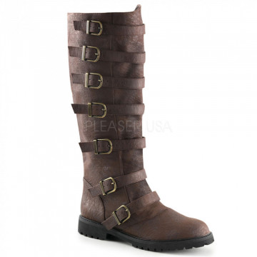 Funtasma GOTHAM-110 Brown Distressed Pu