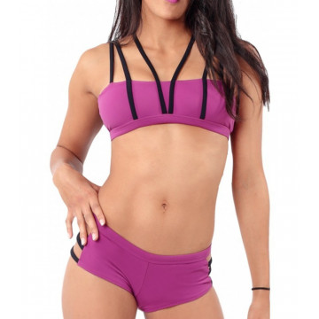 MADEMOISELLE SPIN -  SALOME TOP PLUM in negozio