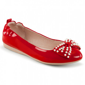 Pin Up Couture IVY-09 Red Pat