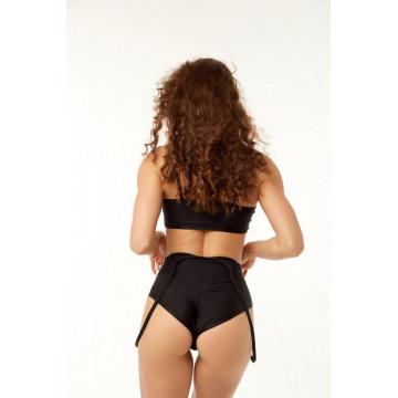 Polerina wear Annika Bottom - Black spalline - spedizione h24 sda express