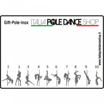 Portachiavi con catena tutto Inox disegno personalizzato (3gg)