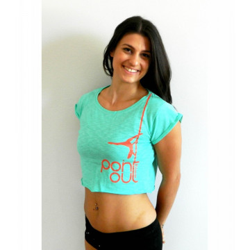 T-Shirt donna Point Out Mint