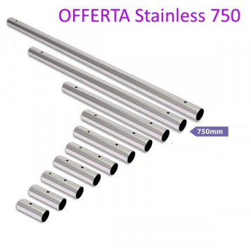 X-pole Offerta | EstensionE Stainless 750mm Post 2014
