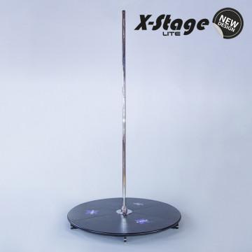 X-pole Pedana X STAGE LITE INOX STAINLESS - DAZI, IVA, SPEDIZIONE INCLUSI
