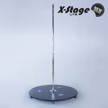 X-pole Pedana X STAGE LITE INOX STAINLESS sp inclusa