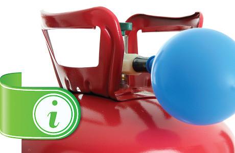 Butelii heliu de unica folosinta pentru petrecareti