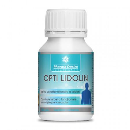 Opti Lidolin, sustine buna functionare a vederii, 180 cps