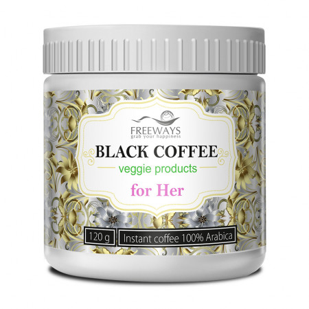 Black Coffee for Her, cafea terapeutica, 120 gr
