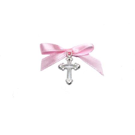 Cruciulite botez fundita roz Denikos® 96