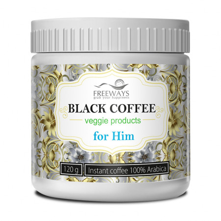 Black Coffee for Him, cafea terapeutica, 120 gr