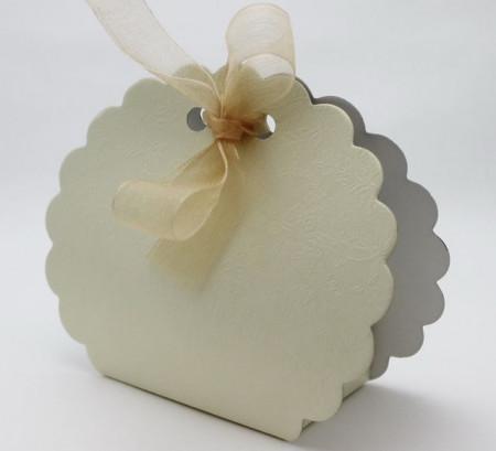 Cutiute scoica cu fundita marturii nunta / botez DA003